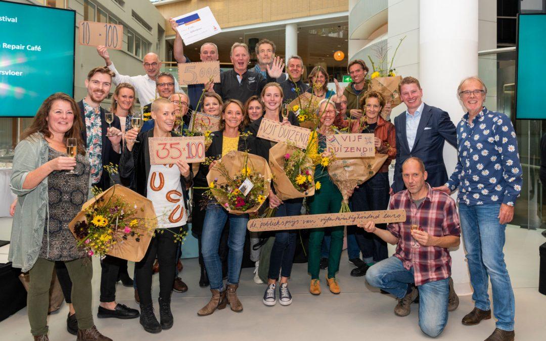 De Natuurkeuken wint Hilversum100 duurzaamheidsprijs