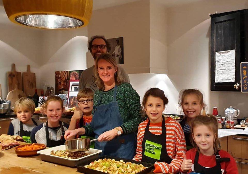 Kids koken duurzaam diner